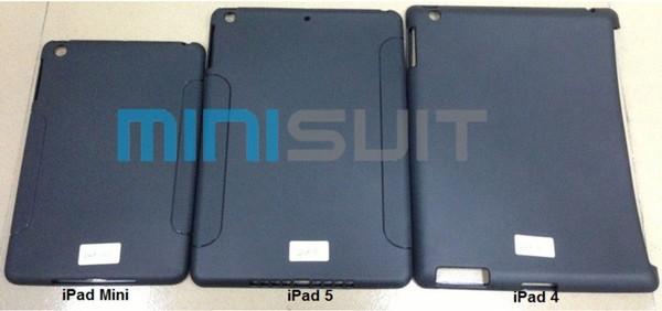 Lộ diện màn cảm ứng iPad 5 - Viền mỏng hơn, dày bằng iPad Mini 3