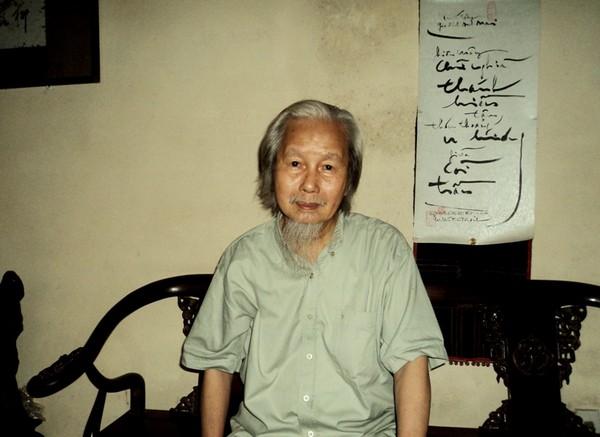 Nhà nghiên cứu Nguyễn Khắc Mai (Ảnh: Tuấn Nam)
