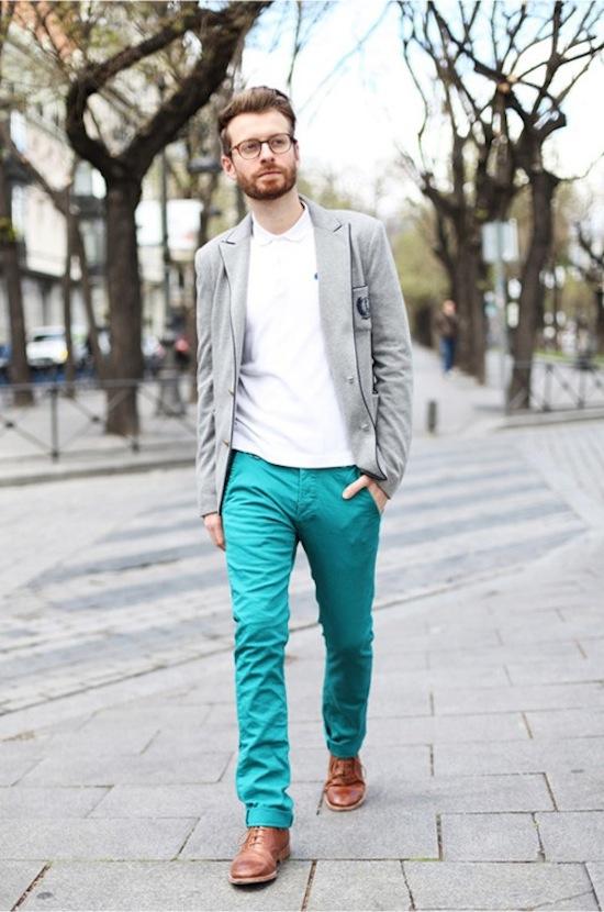 Cách trung hòa các trang phục màu sắc rực rỡ 8