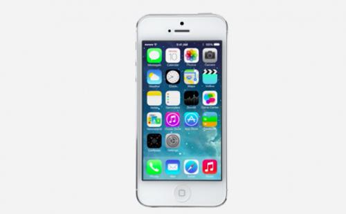 Phác họa iPhone 5S sau màn ra mắt iOS 7