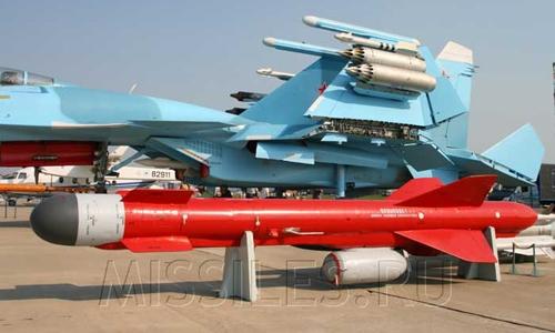 Tên lửa Kh – 59MK2 lắp đặt cho Su – 30 MK