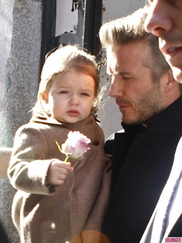 Harper Seven và những hình ảnh cực cute bên bố Becks 2