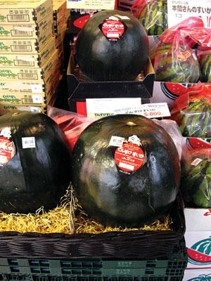 Trái cây giá khủng