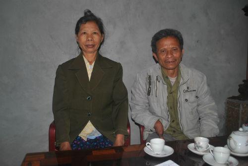 Gia đình có tay chân nhọn như mũi kim ở Hà Nam