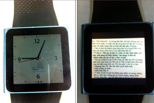 Chiếc đồng hồ thông minh có khả năng chứa file ảnh được sinh viên ĐH Sư phạm kỹ thuật TP.HCM sử dụng trong phòng thi bị phát hiện.