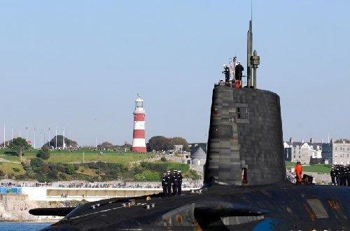 Tàu ngầm lớp Vanguard của Hải quân Hoàng gia Anh