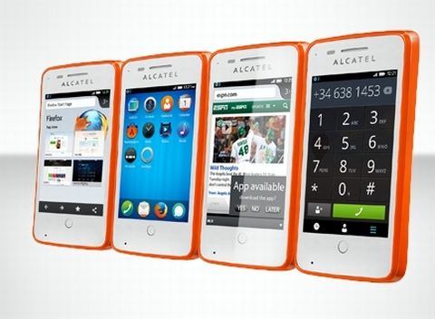 Alcatel one Touch Fire.
