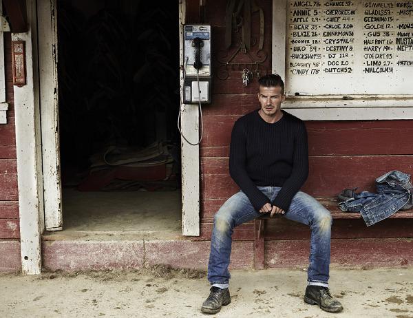 Bí quyết diện jeans của Beckham 1