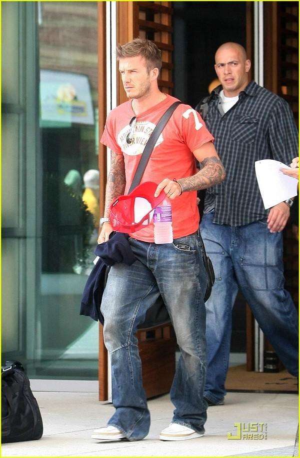 Bí quyết diện jeans của Beckham 3