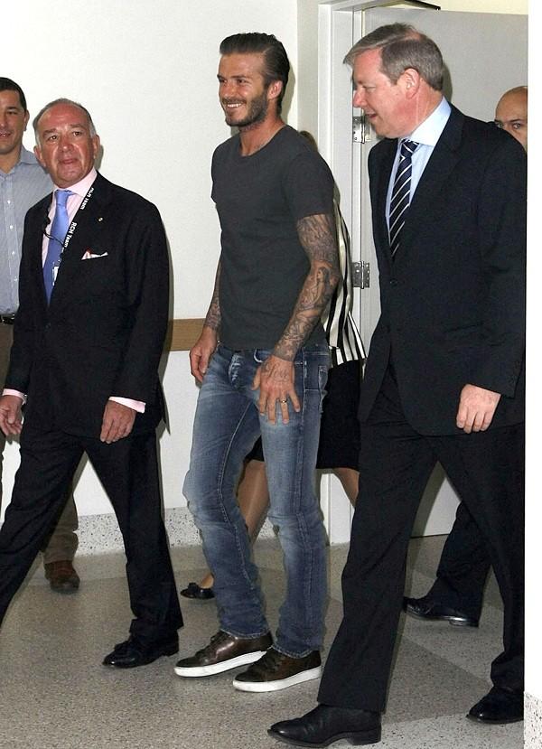 Bí quyết diện jeans của Beckham 4