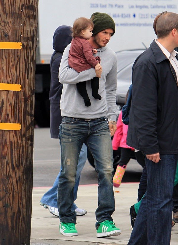 Bí quyết diện jeans của Beckham 6