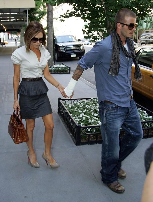 Bí quyết diện jeans của Beckham 10