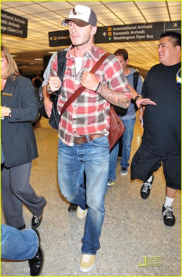 Bí quyết diện jeans của Beckham 12