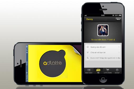 Adlatte - Ứng dụng xem quảng cáo trả thưởng cho người dùng