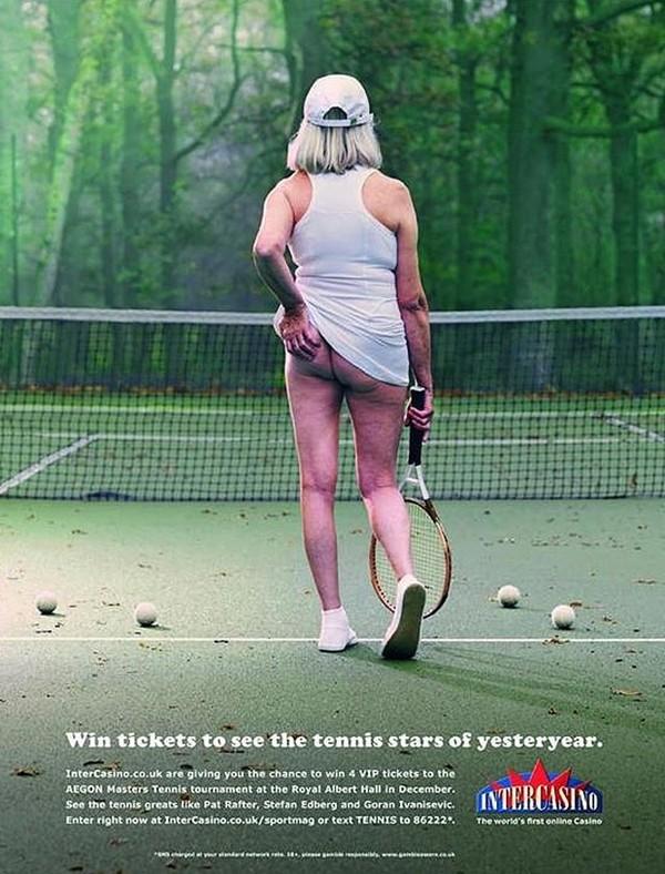 Tennis và trào lưu... vén váy khoe bàn tọa 6