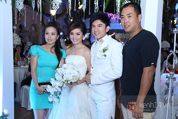 Dàn sao đến dự đám cưới Đan Trường ở Việt Nam 12