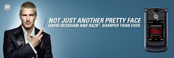 Beckham và sự biến hóa hình ảnh trong các dự án quảng cáo 1