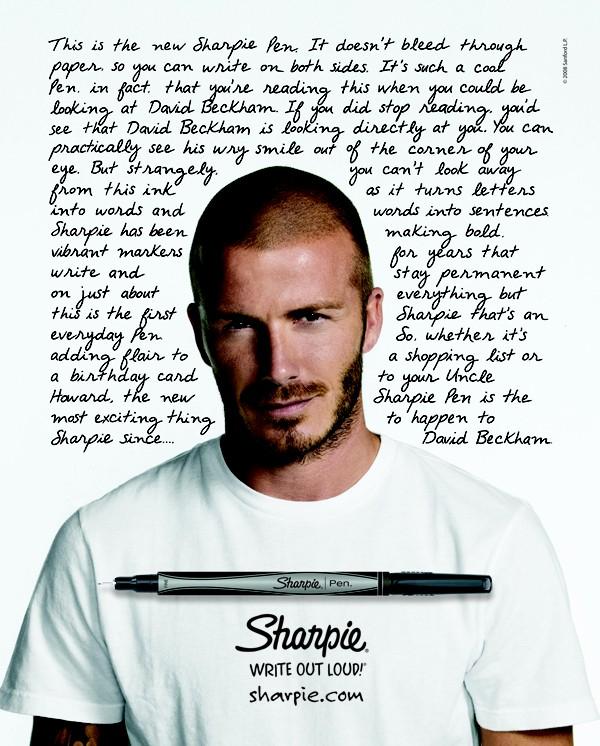Beckham và sự biến hóa hình ảnh trong các dự án quảng cáo 2