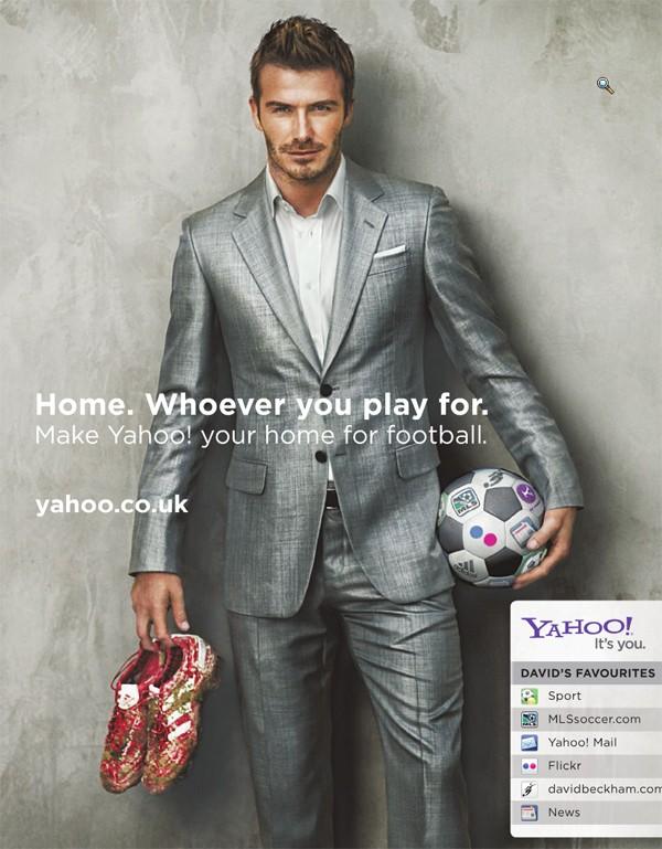 Beckham và sự biến hóa hình ảnh trong các dự án quảng cáo 4