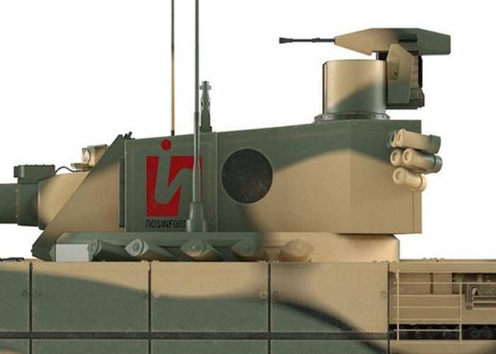 """Phó Giám đốc Tập đoàn Tractor Plants (đơn vị được giao nhiệm vụ thiết kế Armata), ông Mikhail Levshunov xác nhận, xe tăng Armata sẽ được trang bị """"robot súng máy"""" có thể tự động tiêu diệt mục tiêu đã chọn và """"nó sẽ tự bắn cho đến khi mục tiêu bị tiêu diệt"""". Ông này cho biết, các công trình nghiên cứu module điều khiển từ xa được tiến hành trong khuôn khổ nghiên cứu chế tạo các mẫu trang bị kỹ thuật lục quân mới."""