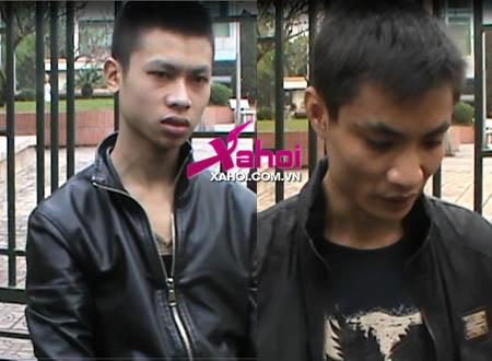 Nguyễn Tiến Dũng (phải) và Vũ Tài Ninh