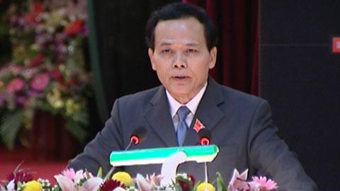 Ông Ngô Văn Dụ - Chủ nhiệm Ủy ban Kiểm tra Trung ương chủ trì hội nghị