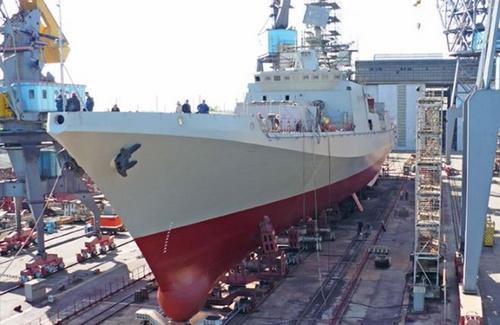 Khu trục hạm Project 11356.
