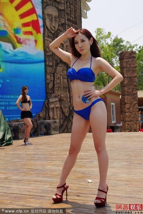 Truyền thông sốc vì ngoại hình của thí sinh Miss Bikini Trung Quốc 2