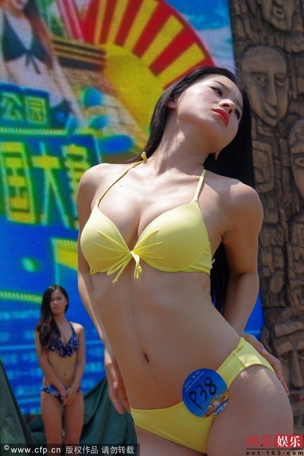 Truyền thông sốc vì ngoại hình của thí sinh Miss Bikini Trung Quốc 4
