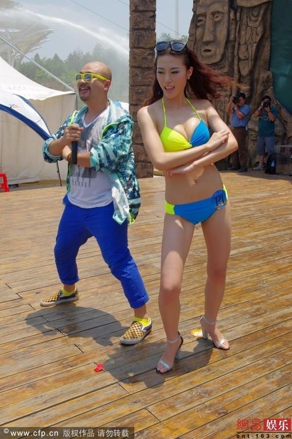 Truyền thông sốc vì ngoại hình của thí sinh Miss Bikini Trung Quốc 5