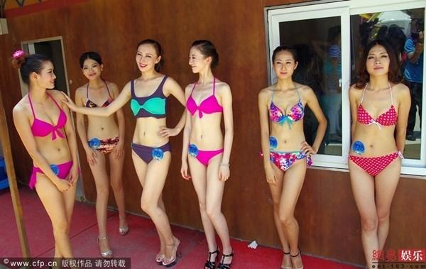 Truyền thông sốc vì ngoại hình của thí sinh Miss Bikini Trung Quốc 8