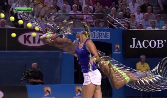 Kỹ thuật tennis: Cú đánh forehand volley