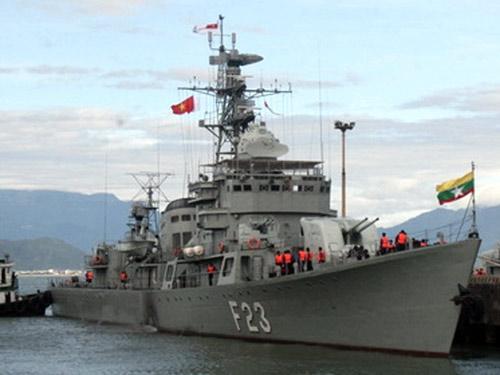 Tàu hộ vệ tên lửa lớp 053H1 (Giang Hồ II) số hiệu F23 Mahar Thiha Thura