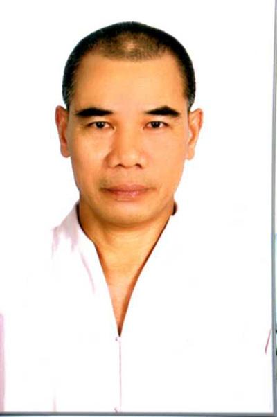 Vũ Ngọc Liễm pháp danh Tì kheo Thích Long Tịnh (ảnh do nhà chùa cung cấp)
