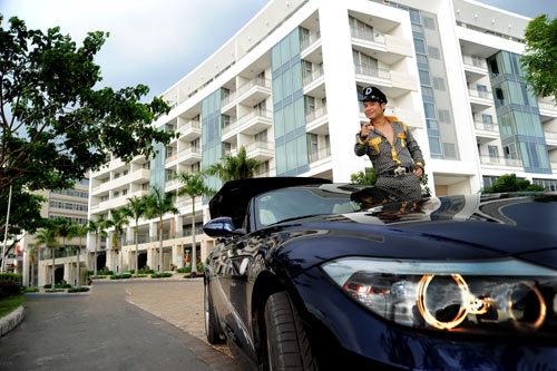 Bộ sưu tập xe cũ - xe mới của sao Việt (P1) 16