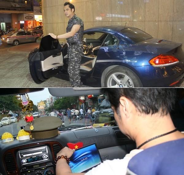 Bộ sưu tập xe cũ - xe mới của sao Việt (P1) 17