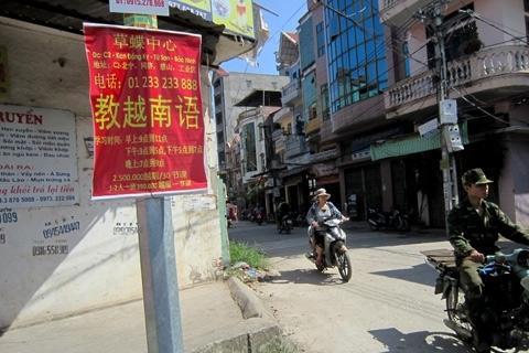 Nếu không ghi địa chỉ rõ ràng thì có lẽ ai cũng nghĩ mình đang ở trên phố người Trung Quốc