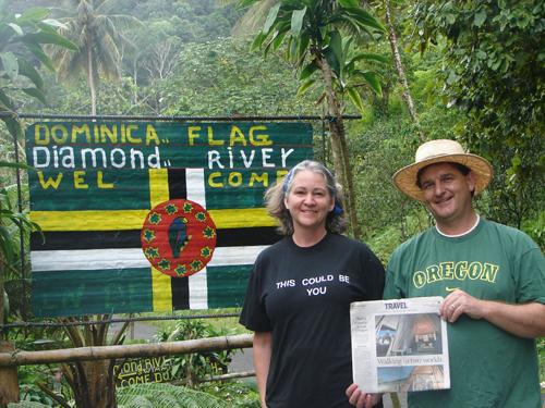 Hòn đảo Dominica là nơi đòi hỏi vốn đầu tư quốc tịch thấp nhất. Ảnh: OREGON LIVE