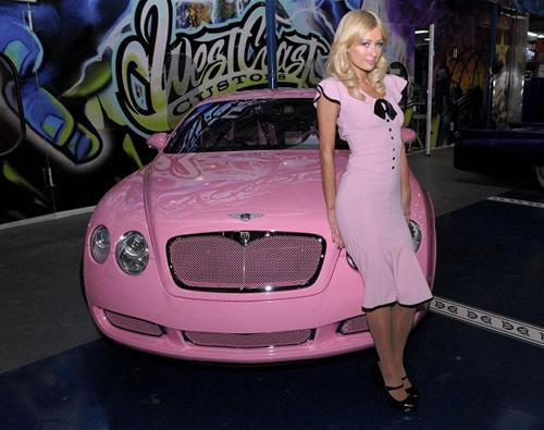 Choáng ngợp dàn siêu xe của tiểu thư nước Mỹ - Paris Hilton