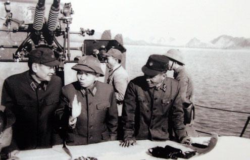 Trong chuyến kiểm tra vùng biển Quảng Ninh sau chiến dịch phá thủy lôi năm 1973, đại tướng Võ Nguyên Giáp khẳng định: