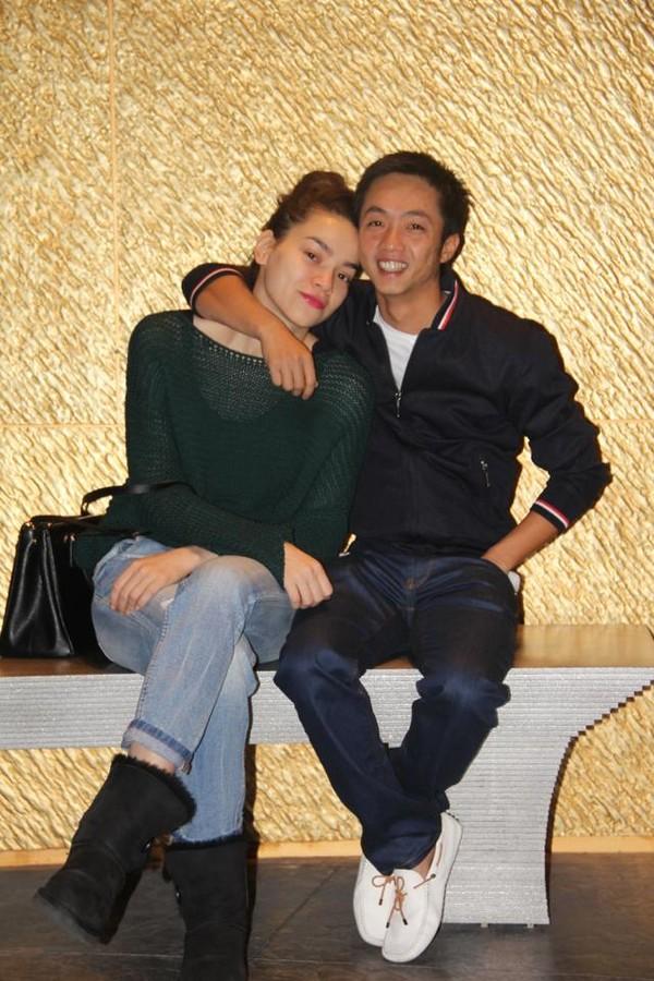 Cường Đôla và vợ Hồ Ngọc Hà