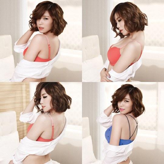 Khó cưỡng hình ảnh nội y của ca sĩ Hàn