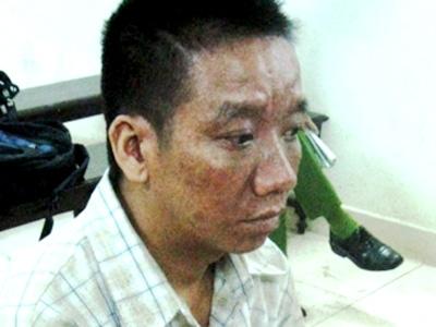 Nguyễn Văn Trước với khuôn mặt cô hồn tại phiên xử