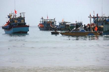 Phát hiện thêm một tàu cổ bị đắm tại vùng biển Bình Châu