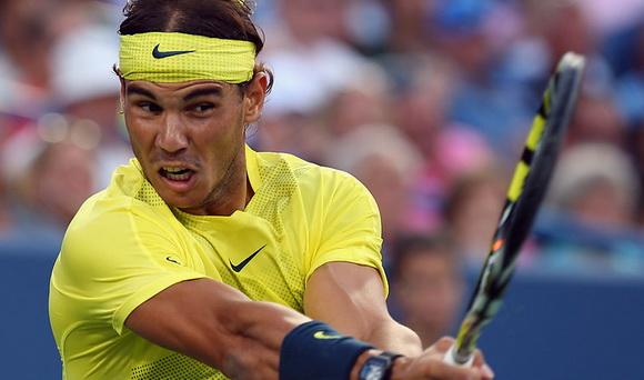 Nadal đánh bật Federer ra khỏi Cincinnati Masters 2013