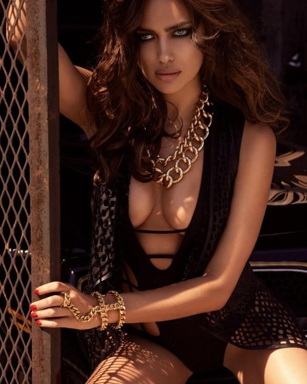Bỏng mắt với loạt ảnh chèn ép ngực đầy khêu gợi của Irina Shayk 9