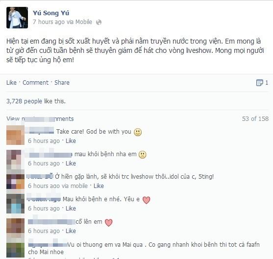 Trò cưng The Voice Kids của Thanh Bùi nhập viện 1