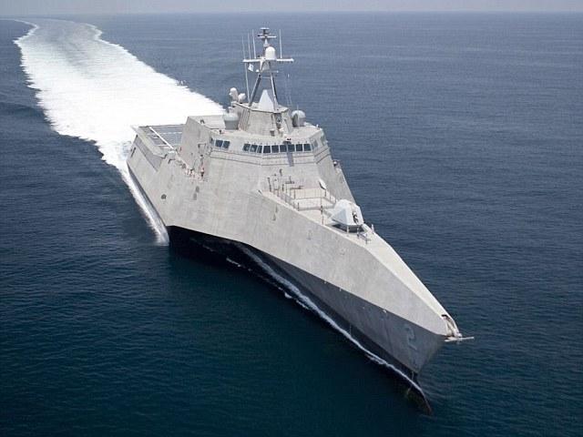 Tàu tác chiến gần bờ LCS USS Independence của Mỹ