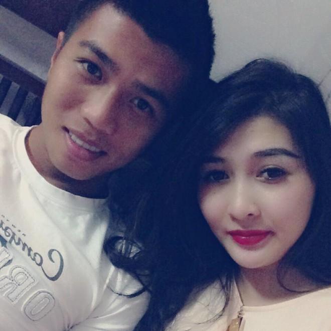 Bóng hồng xinh đẹp của tiền vệ Duy Thanh 1