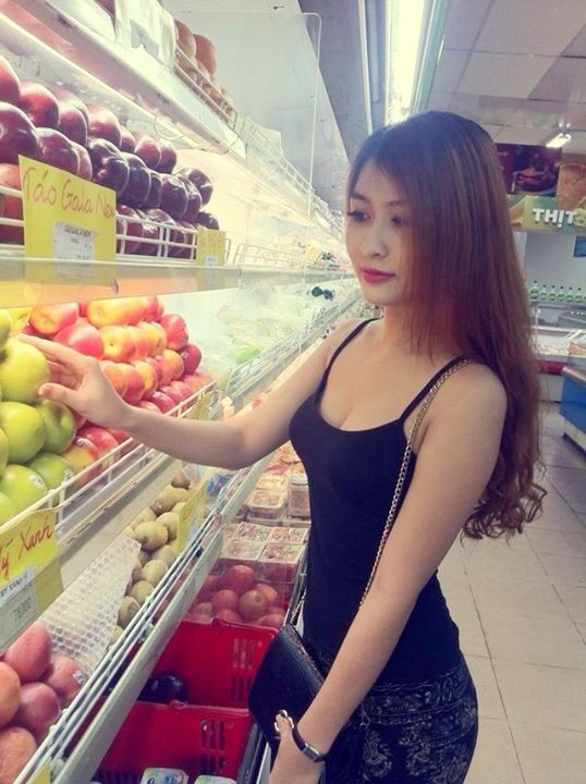Bóng hồng xinh đẹp của tiền vệ Duy Thanh 10